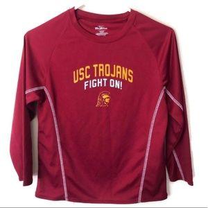 🎈USC Trojans Pro Edge Performance Shirt Size 8